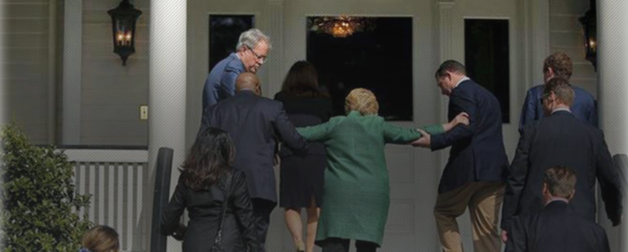 Hillary Receives Bad News About Her Health Records