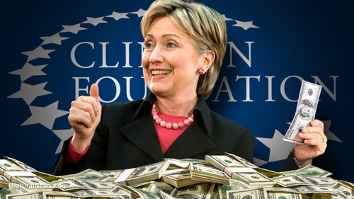 FBI Investigating $$$ Funneled From Foreign Govt. To Clintons