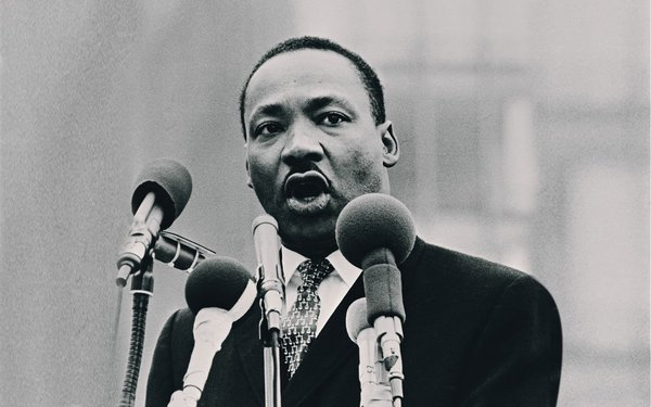 8.) Martin Luther King Jr.