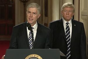 Gorsuch writes first opinion as Supreme Court justice