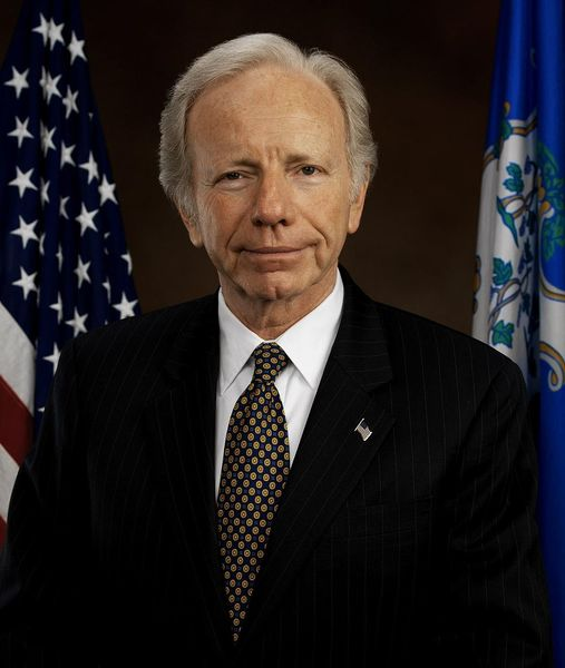 7.) Former Sen. Joe Lieberman (D-CT)