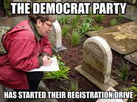 Democrat Heads to Prison for Registering Dead Voters