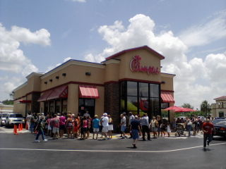 Chick-Fil-A Sends A Boat To Rescue A Customer During Harvey