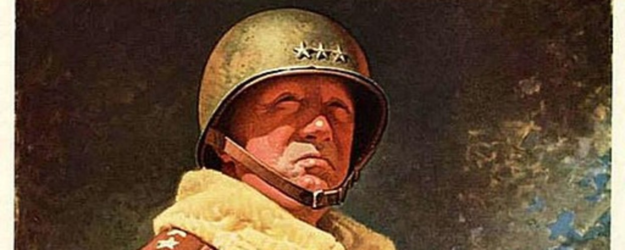 Read The Manliest Xmas Card EVER, Courtesy Of General Patton