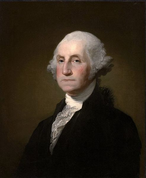 2.) George Washington Mural