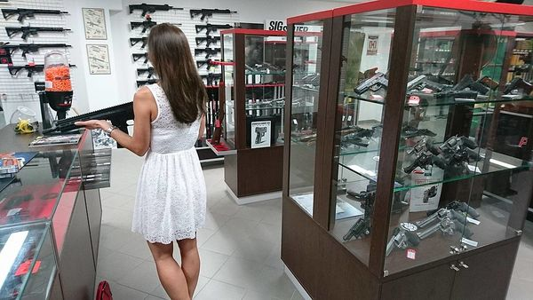 Conservative Student's Closing Salvo to Anti-Gun University Goes Viral
