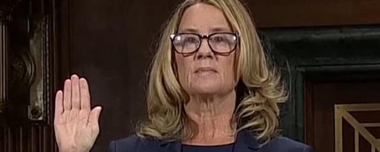 Career-Ending News For Christine Blasey Ford's Lawyers?