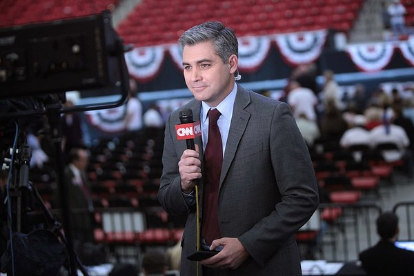 WATCH: CNN's Acosta Loses It After Being Ignored By Trump