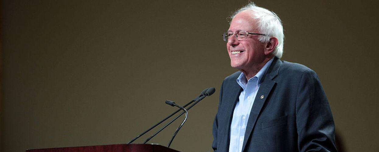 Bernie's Reverse Robin Hood Plans to Buy the Nomination