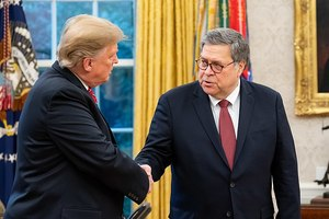 Barr Embarrasses Reporter Suggesting He's Protecting Trump