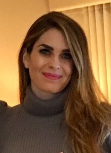 1.) Hope Hicks