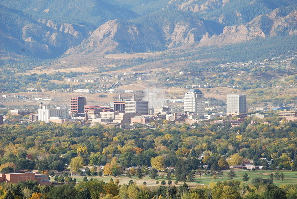 4.) Colorado Springs, Colorado