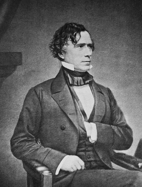 7.) Franklin Pierce