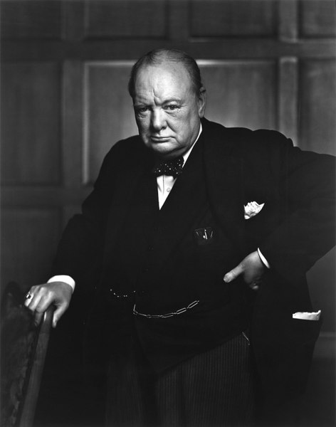 8.) Churchill and King George