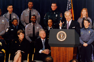 Old Video of Biden Touting Crime Bill Comes Back to Haunt Him
