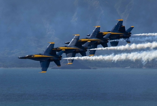 6.) The Blue Angels