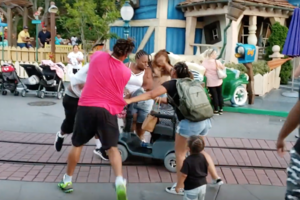 Disturbing Fight at the Happiest Place on Earth