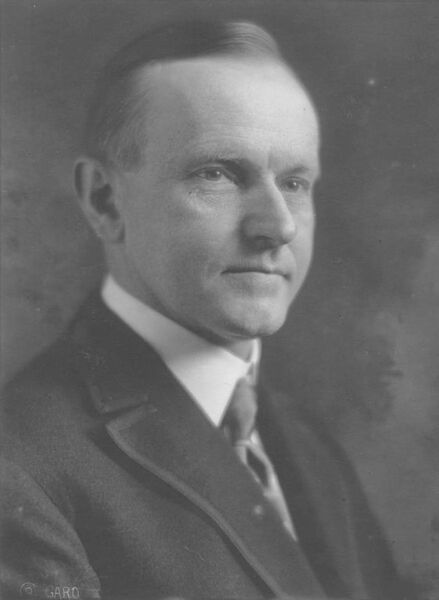 3.) Calvin Coolidge