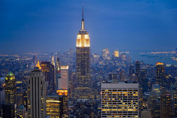 2.) Building the Empire State Building
