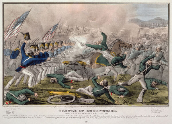 1.) Victory in the Mexican-American War