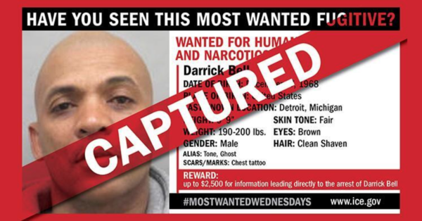 ICE's 'Most Wanted' Nabbed After Two-Year Manhunt