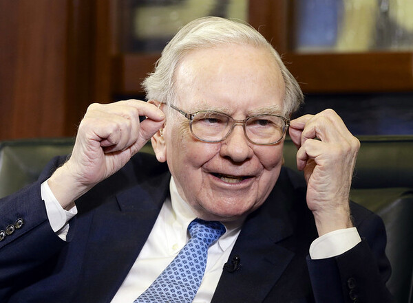 3.) Warren Buffett