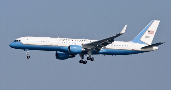 8.) Air Force Two: a Flight in Infamy