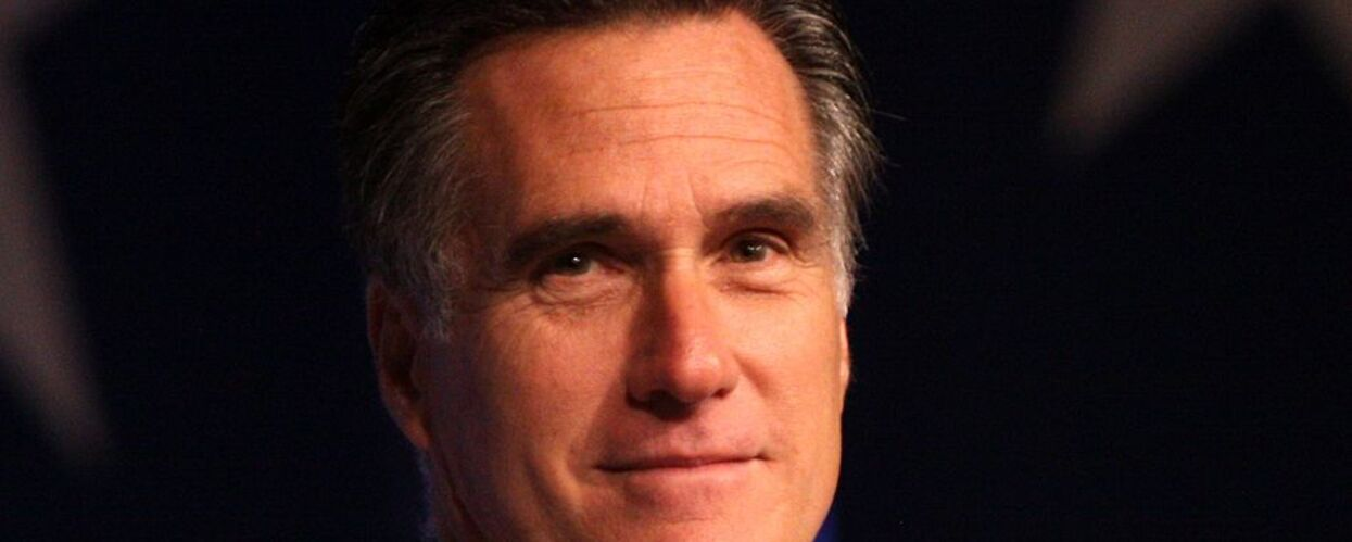 With Trump's Fate in the Balance, Romney Goes Silent