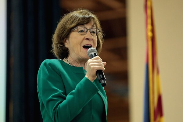 Susan Collins Announces She Will Vote to Acquit Trump on Both Charges
