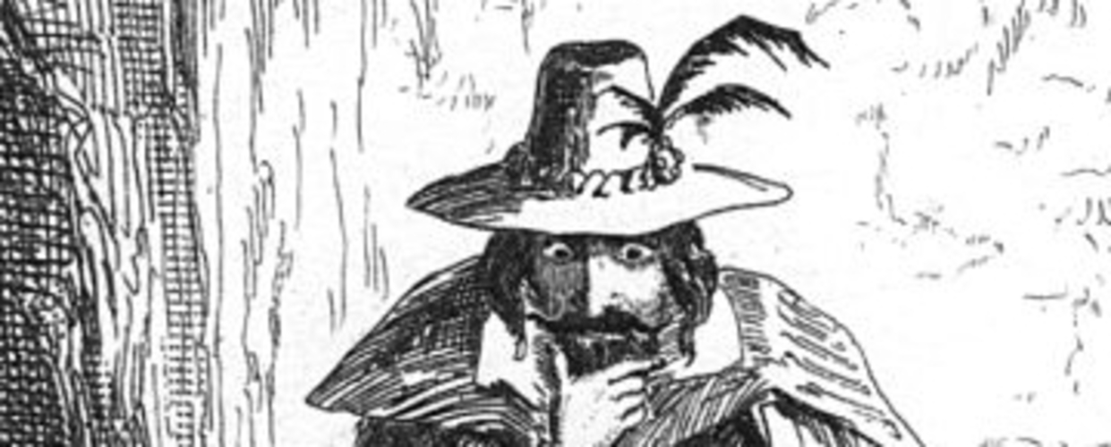 3.) Guy Fawkes