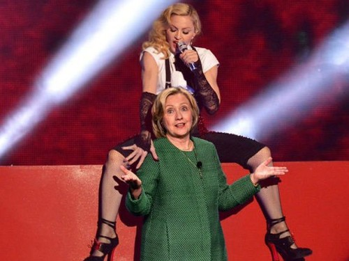 Madonna's Unorthodox Strategy to Vote for Clinton