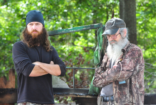 'Duck Dynasty' Stars Willie And Phil Robertson Speak At Louisiana Trump Rally