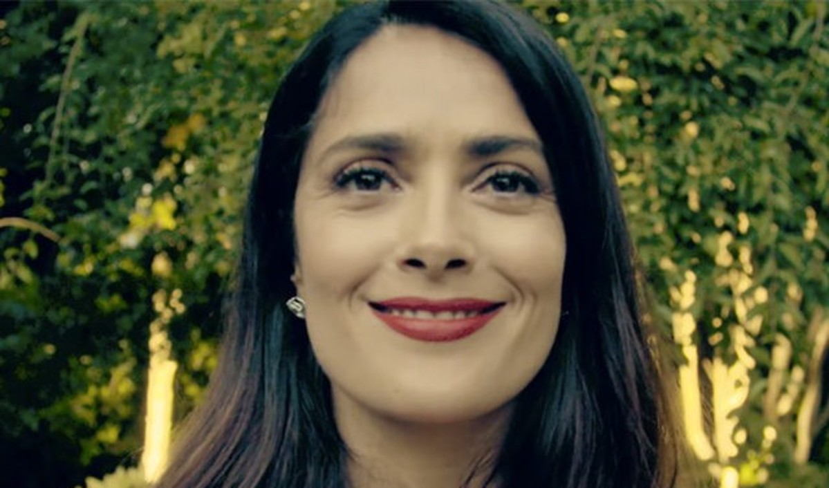 Salma Hayek Trashes Trump's 'Dumb' Wall
