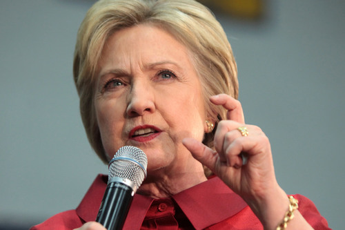 Hillary Clinton Narrowly Avoids Another Fall