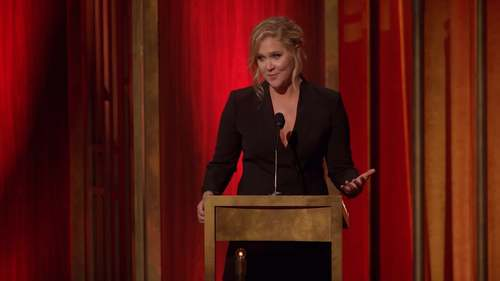 Amy Schumer Cries Over 'NIghtmare' Trump