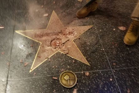 Man Who Defaced Trump Star on Walk of Fame Gets Puny Punishment