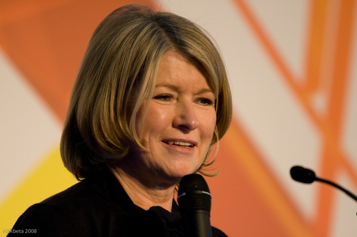 Did Martha Stewart Just Flip Off a Photo of President Trump?