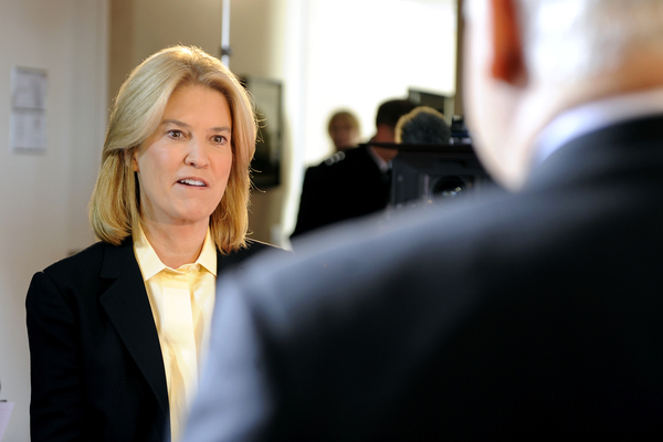 Greta Van Susteren Makes a Brief Return to TV