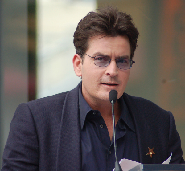 Charlie Sheen Says He Wants Trump to Die Next