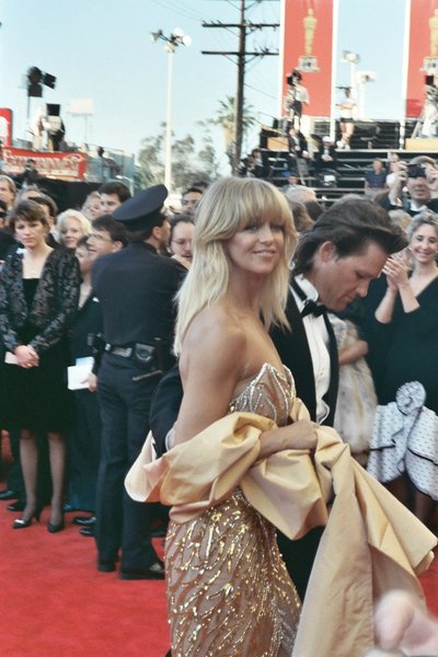 Goldie Hawn and Kurt Russell Have Date Night at Golden Globes