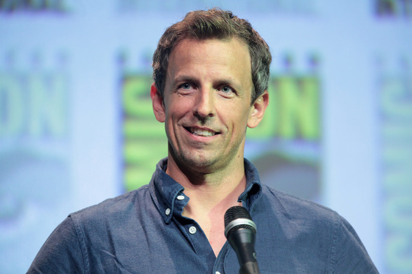 Seth Meyers Trashes Trump for Fake News Claims