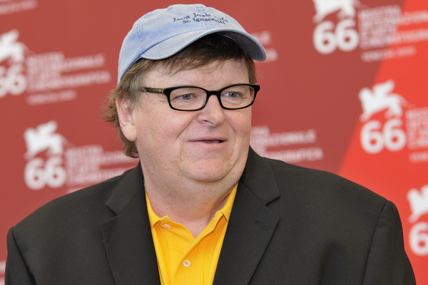 Michael Moore Tells Trump to 'Grow a Pair'