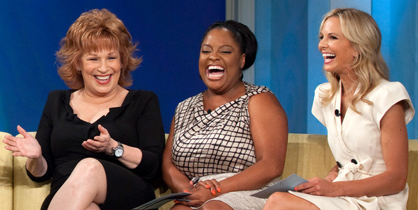 Joy Behar Just Backhanded Melania Trump