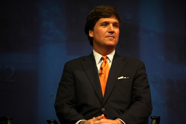 Tucker Carlson Announces First Interview in 8 PM Show