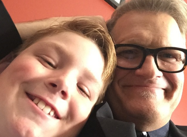Drew Carey's Son Started a Fire, Yelled 'Screw Our President' at DC Trump Protest