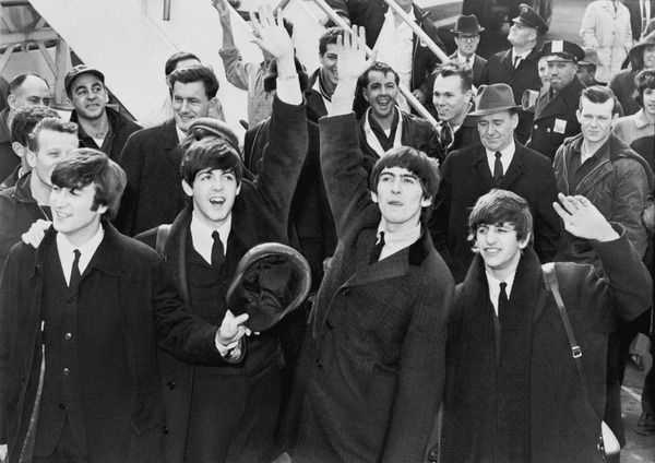 Video Flashback: Today in 1964, The Beatles Had Their First Trip to the U.S.