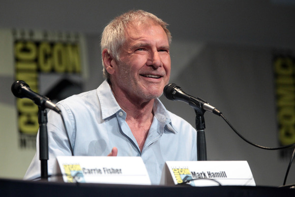 Harrison Ford Takes Veiled Shot at Trump