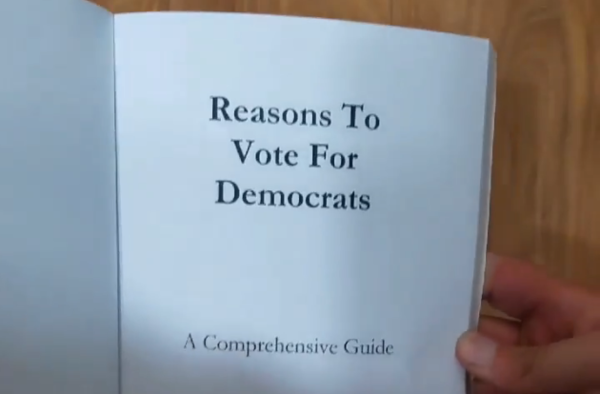 This Book on 'Reasons to Vote for Democrats' is Becoming a Bestseller—But There's a Catch