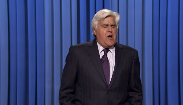 Jay Leno Burns Bill Clinton on the Tonight Show