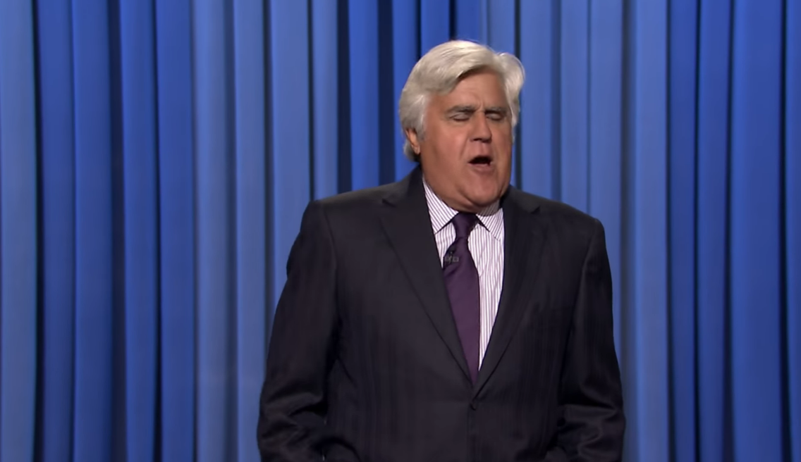 Watch Jay Leno Rip the Clintons in Surprise Jimmy Fallon Appearance